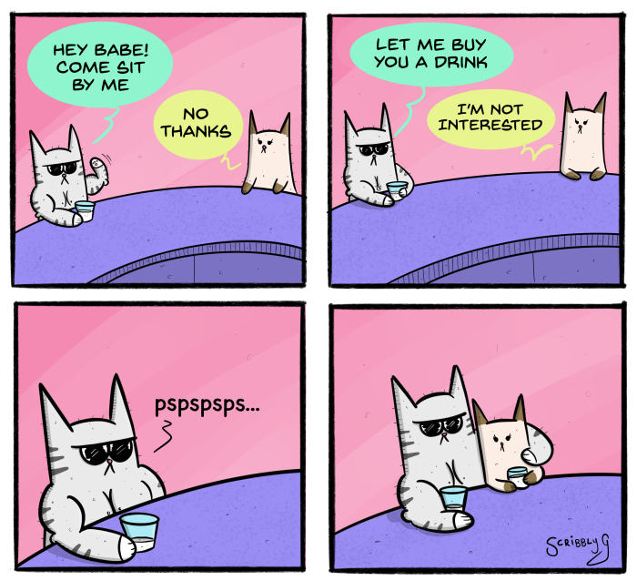 Buff Cat Comic